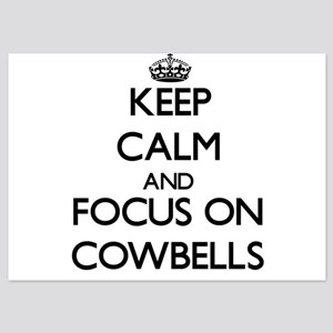 Keep Calm by focusing on Cowbells Invitations