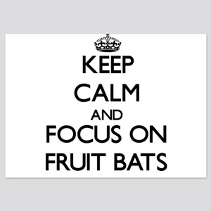 Keep Calm by focusing on Fruit Bats Invitations