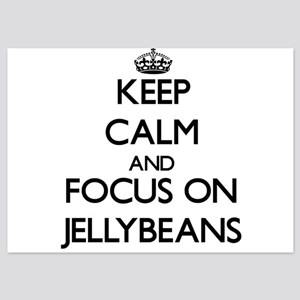 Keep Calm by focusing on Jellybeans Invitations