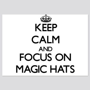 Keep Calm by focusing on Magic Hats Invitations
