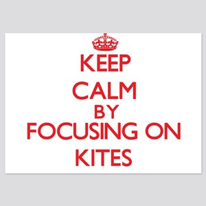 Keep Calm by focusing on Kites Invitations