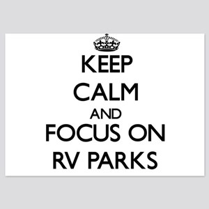 Keep Calm by focusing on Rv Parks Invitations