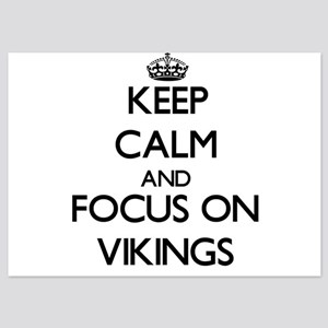 Keep Calm by focusing on Vikings Invitations