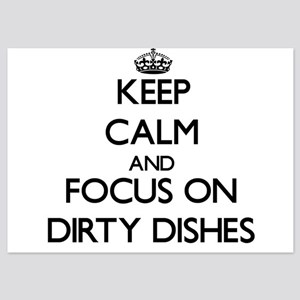 Keep Calm by focusing on Dirty Dishes Invitations