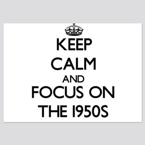 Keep Calm by focusing on The 1950S Invitations