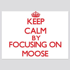 Keep Calm by focusing on Moose Invitations