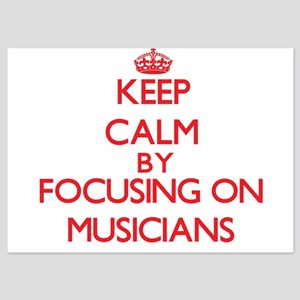 Keep Calm by focusing on Musicians Invitations
