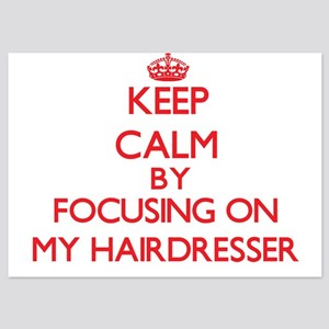 Keep Calm by focusing on My Hairdresse Invitations