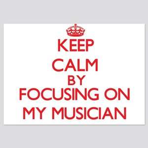 Keep Calm by focusing on My Musician Invitations