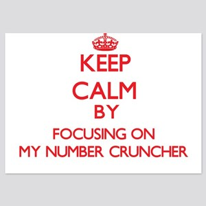 Keep Calm by focusing on My Number Cru Invitations