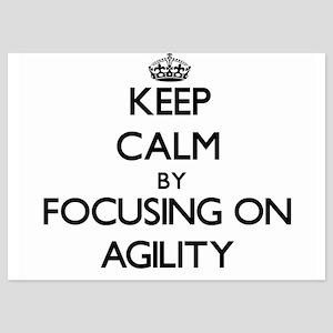 Keep Calm by focusing on Agility Invitations