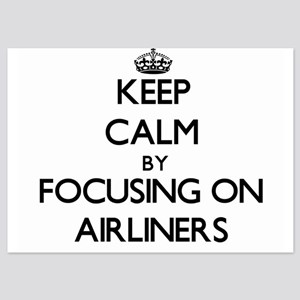 Keep Calm by focusing on Airliners Invitations