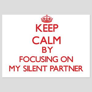 Keep Calm by focusing on My Silent Par Invitations