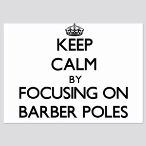 Keep Calm by focusing on Barber Poles Invitations