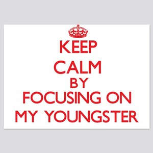 Keep Calm by focusing on My Youngster Invitations
