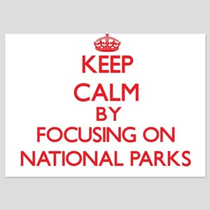 Keep Calm by focusing on National Park Invitations