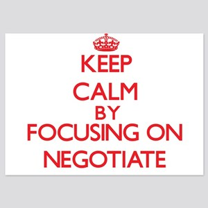 Keep Calm by focusing on Negotiate Invitations