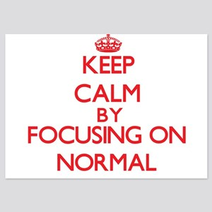 Keep Calm by focusing on Normal Invitations
