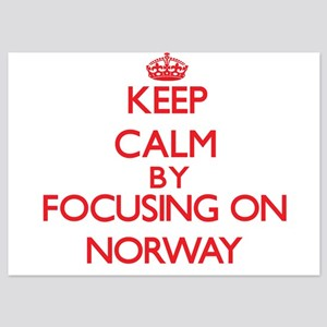 Keep Calm by focusing on Norway Invitations
