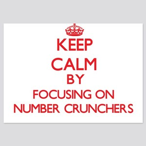 Keep Calm by focusing on Number Crunch Invitations