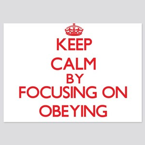 Keep Calm by focusing on Obeying Invitations