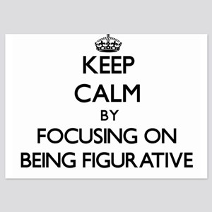 Keep Calm by focusing on Being Figurat Invitations