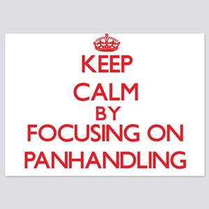Keep Calm by focusing on Panhandling Invitations