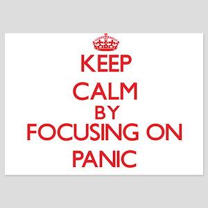 Keep Calm by focusing on Panic Invitations