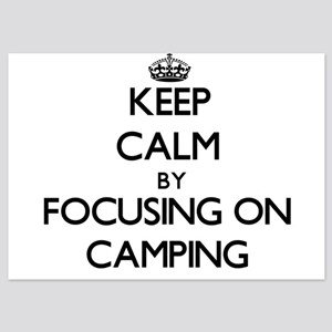 Keep Calm by focusing on Camping Invitations