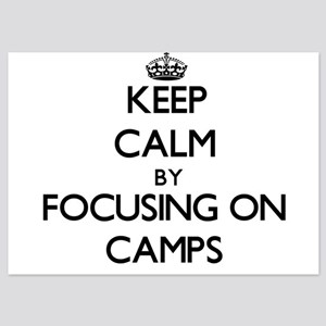 Keep Calm by focusing on Camps Invitations