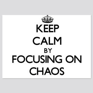 Keep Calm by focusing on Chaos Invitations