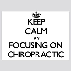 Keep Calm by focusing on Chiropractic Invitations