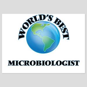 World's Best Microbiologist Invitations