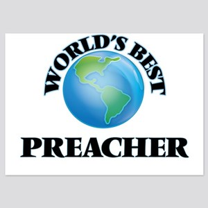 World's Best Preacher Invitations