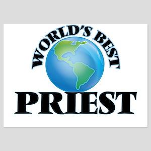 World's Best Priest Invitations