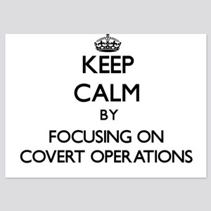 Keep Calm by focusing on Covert Operat Invitations