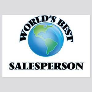 World's Best Salesperson Invitations