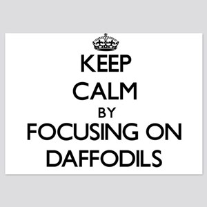 Keep Calm by focusing on Daffodils Invitations