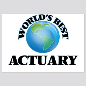 World's Best Actuary Invitations