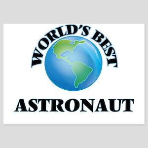World's Best Astronaut Invitations