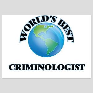World's Best Criminologist Invitations