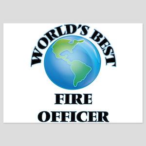 World's Best Fire Officer Invitations
