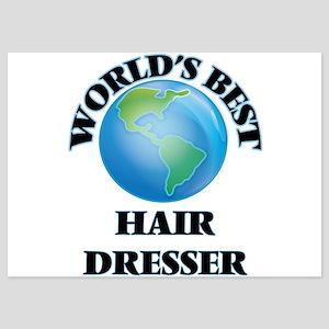 World's Best Hair Dresser Invitations