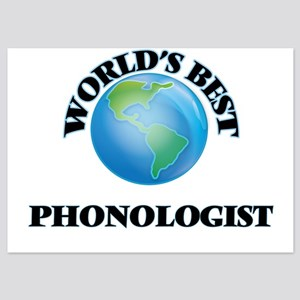 World's Best Phonologist Invitations