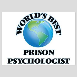 World's Best Prison Psychologist Invitations