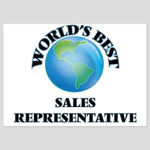 World's Best Sales Representative Invitations
