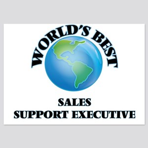 World's Best Sales Support Executive Invitations
