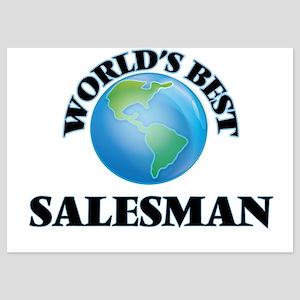 World's Best Salesman Invitations