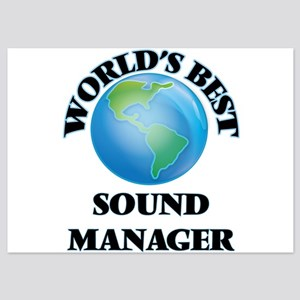 World's Best Sound Manager Invitations