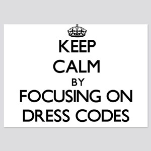 Keep Calm by focusing on Dress Codes Invitations